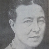 Drawing of Simone de Beauvoir