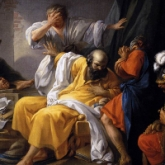 Jacques Philip Joseph de Saint Quentin 'The Death of Socrates'