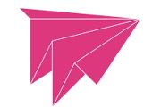 Wunderbar logo of a paper plane
